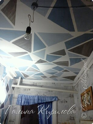 Вот такой потолок у меня получился .  фото 1