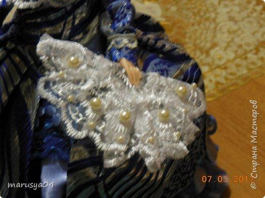Вот такая дама с веером получилась))). Делала на основании костюмов для верховой езды - стиль диктовала шляпка... фото 3