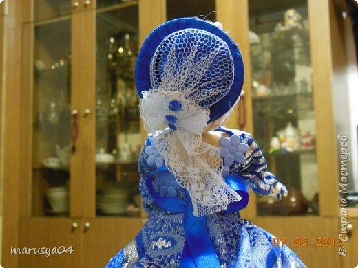 Вот такая дама с веером получилась))). Делала на основании костюмов для верховой езды - стиль диктовала шляпка... фото 6