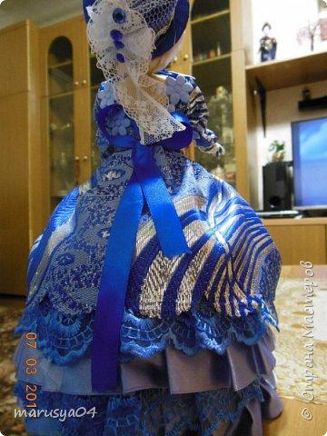 Вот такая дама с веером получилась))). Делала на основании костюмов для верховой езды - стиль диктовала шляпка... фото 7