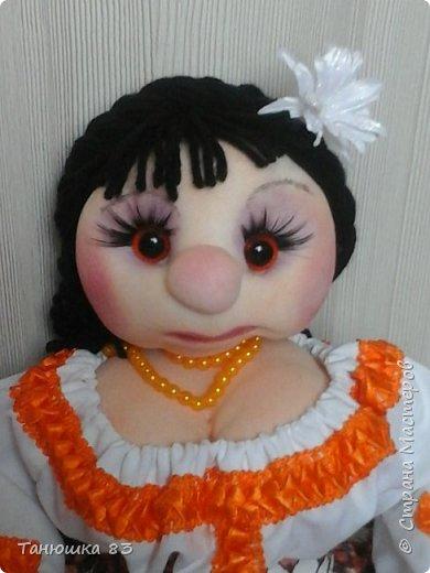 Привет Всем кто заглянул в гости, такую куколу сделал сестра за один день.  фото 2