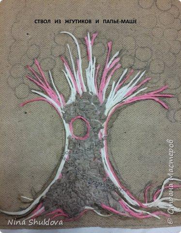 Здравствуйте мастера и мастерицы! Много денежных деревьев на просторах интернета, вот и мне захотелось порадовать себя. Это денежное дерево я сделала себе в подарок на 8 марта. Огромное спасибо всем мастерам за подробный мастер-класс!!! Тани Сорокиной в МК скручивания жгутов(http://stranamasterov.ru/node/308701), m_a_r_i_n_a http://stranamasterov.ru/node/578436?c=favorite_c. Размер панно-картины 30х40. фото 6