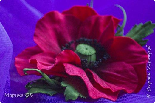 Цветочные украшения из фоамирана фото 1