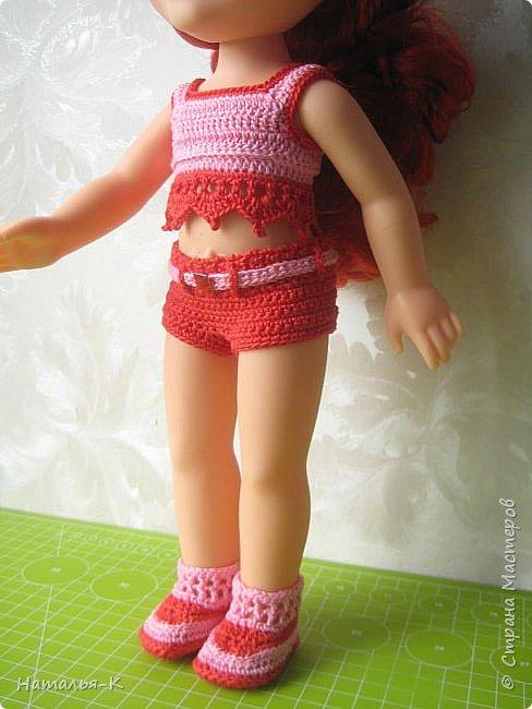 Кукла - Arielle 35 cm.  Подарила внучке на день рождения, с вязаными обновками. В глазах у внучки был ВОСТОРГ!!!   Её любимая  в мультфильме принцесса. Принцесса София - http://stranamasterov.ru/node/1035055  у другой внучки. фото 4