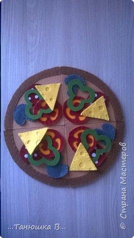 """Для доченьки """"испекла"""" мама пиццу. фото 2"""