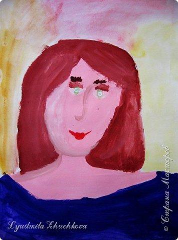 Портреты мам фото 9