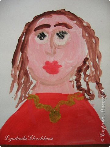Портреты мам фото 8