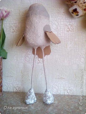 Привет! Хочу поздравить всех девчонок с нашим весенним праздником 8 марта!!! И показать вам мою новую папьешную работу - скворечник, на который уже прилетела синичка))) Правда домик этот не настоящий,а декоративный... фото 25