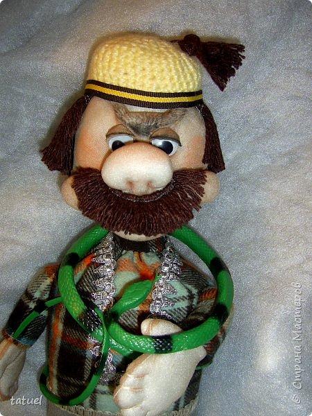 Всем привет и поздравления с праздником 8 Марта!  Очередная смена вида творчества- потянуло попробовать шить куклы из капрона. Впервые .  Перед вами мои первые результаты.  фото 6