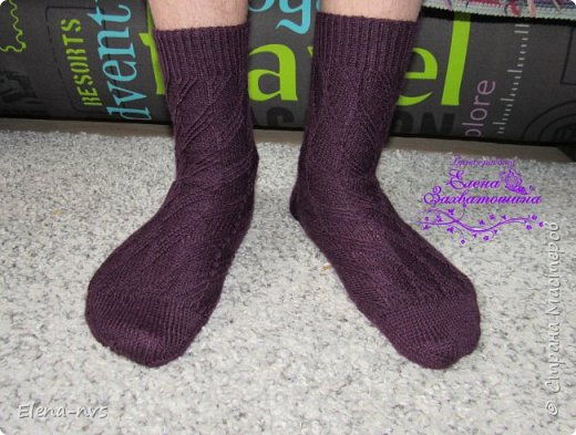 Мужские носки Alluvial Deposits  фото 2