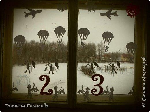 Украшаем окна в школе фото 4