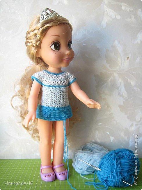 Куклы - Rapunzel 35 см. Подарила внучкам на Рождество. фото 10