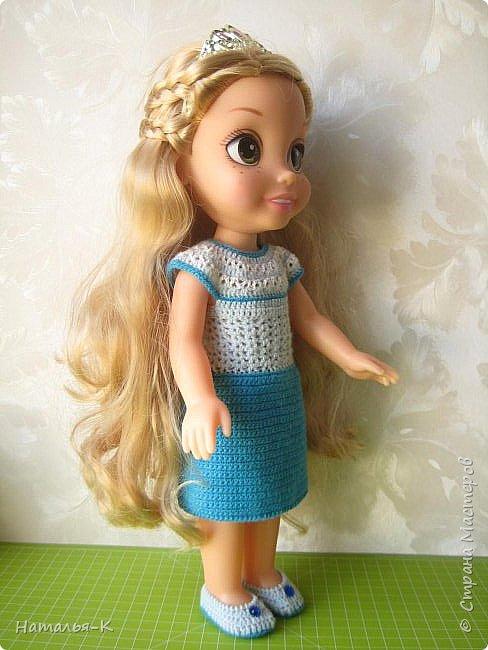 Куклы - Rapunzel 35 см. Подарила внучкам на Рождество. фото 9