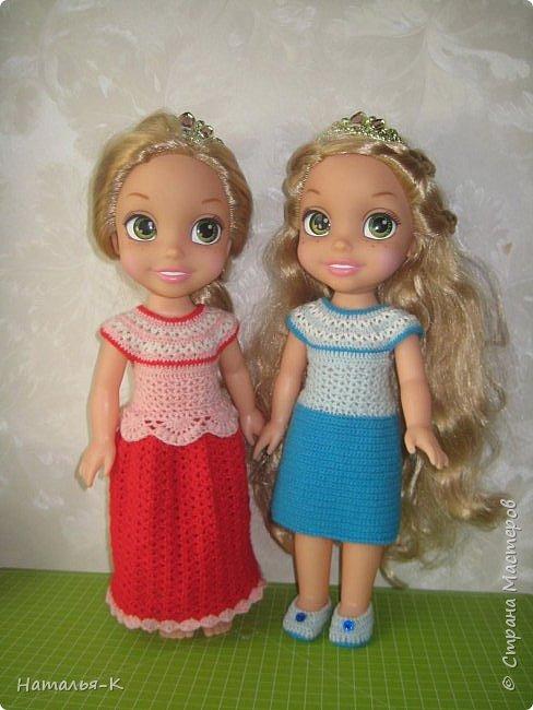 Куклы - Rapunzel 35 см. Подарила внучкам на Рождество. фото 2