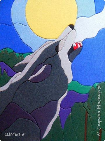 """Очередное панно из серии """"В мире животных"""". фото 1"""