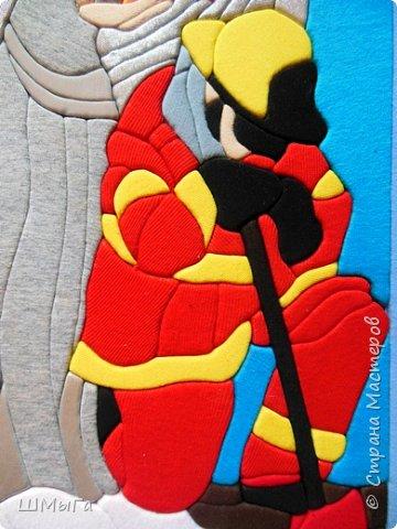 """Ежегодно весной в рамках районной выставки-конкурса проходит еще один конкурс: отборочный тур на краевую выставку """"Пожарная ярмарка"""". В этом году снова появилась номинация для педагогов. Так что сотворилась вот такая картинка. фото 5"""