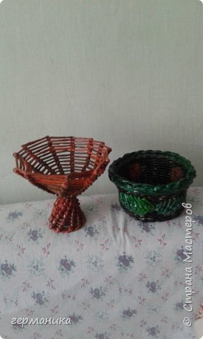 вазочка и корзинка фото 1