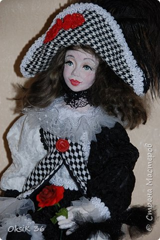 "Новая кукла""Домино."" фото 3"