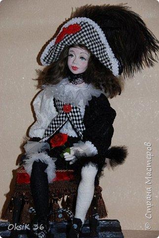 "Новая кукла""Домино."" фото 4"
