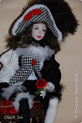 "Новая кукла""Домино."" фото 5"