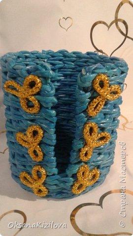 Добрый день. Давно в моих хотелках было плетение В честь праздников наплелись такие конфетницы. фото 11