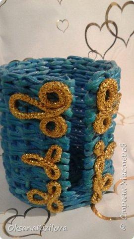 Добрый день. Давно в моих хотелках было плетение В честь праздников наплелись такие конфетницы. фото 12