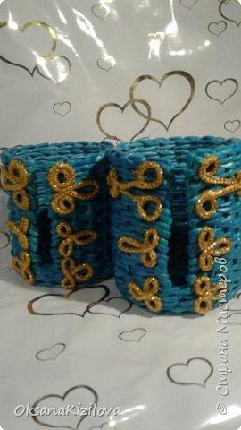 Добрый день. Давно в моих хотелках было плетение В честь праздников наплелись такие конфетницы. фото 13