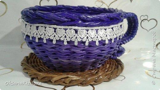 Добрый день. Давно в моих хотелках было плетение В честь праздников наплелись такие конфетницы. фото 1