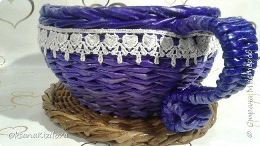 Добрый день. Давно в моих хотелках было плетение В честь праздников наплелись такие конфетницы. фото 2