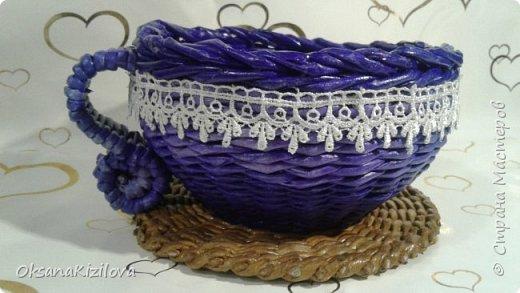 Добрый день. Давно в моих хотелках было плетение В честь праздников наплелись такие конфетницы. фото 4