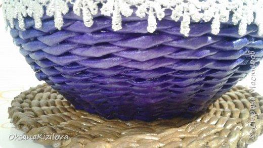 Добрый день. Давно в моих хотелках было плетение В честь праздников наплелись такие конфетницы. фото 5