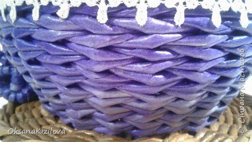 Добрый день. Давно в моих хотелках было плетение В честь праздников наплелись такие конфетницы. фото 8
