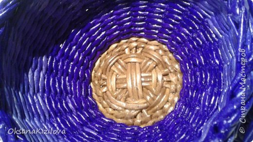 Добрый день. Давно в моих хотелках было плетение В честь праздников наплелись такие конфетницы. фото 10