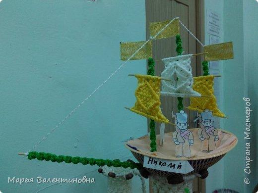 """Первый парусник , изготовленный в нашем объединении здесь -  http://stranamasterov.ru/node/985331  .А это парусник под названием """"Победа""""- работа Сергея. фото 7"""