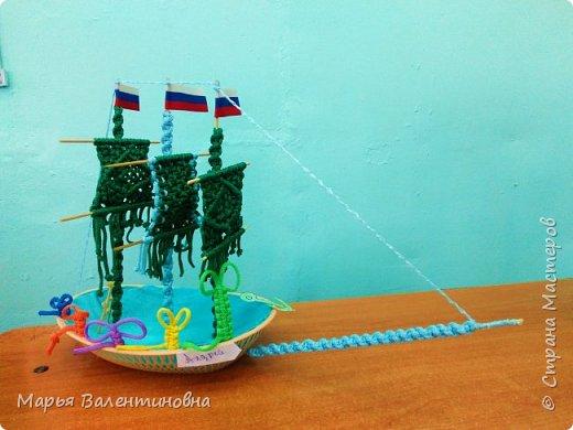 """Первый парусник , изготовленный в нашем объединении здесь -  http://stranamasterov.ru/node/985331  .А это парусник под названием """"Победа""""- работа Сергея. фото 10"""