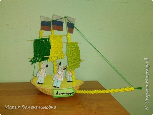 """Первый парусник , изготовленный в нашем объединении здесь -  http://stranamasterov.ru/node/985331  .А это парусник под названием """"Победа""""- работа Сергея. фото 12"""