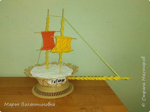 """Первый парусник , изготовленный в нашем объединении здесь -  http://stranamasterov.ru/node/985331  .А это парусник под названием """"Победа""""- работа Сергея. фото 13"""