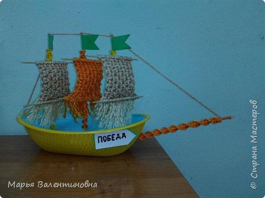 """Первый парусник , изготовленный в нашем объединении здесь -  http://stranamasterov.ru/node/985331  .А это парусник под названием """"Победа""""- работа Сергея. фото 14"""