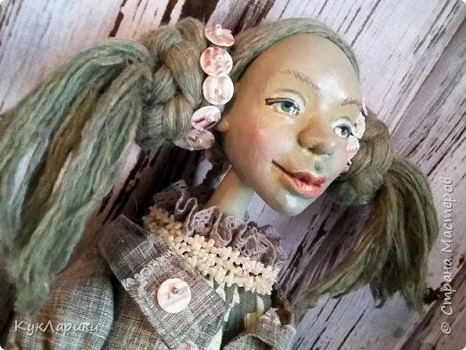 Всем Привет!!!У меня новая кукла.Кикимора Весенняя. Кукла большая почти 60 см.Сидит самостоятельно. фото 6