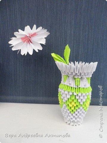 В этом году второклассники вручали мамочкам вот такие подарочки. Из-за занятости в разных кружках успели сделать только по одному цветочку. Цветы делали по МК ромашек, как в конкурсной работе http://stranamasterov.ru/node/962286?k=all&u=338230 моей ученицы. фото 2