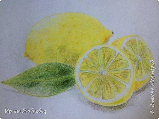 Рисунок акварельными карандашами по фотографии. фото 8