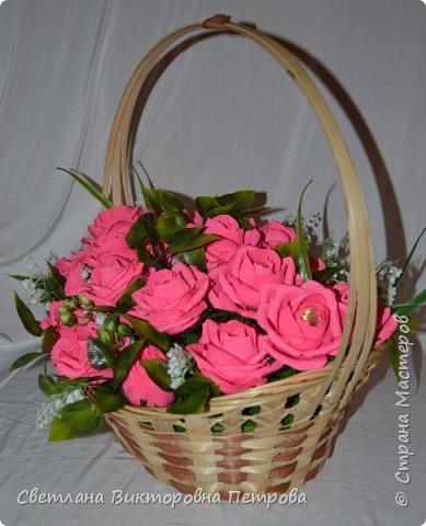 в работе использованы конфеты марсианка 21 штука, искусственные: листья роза , ландыш. фото 3