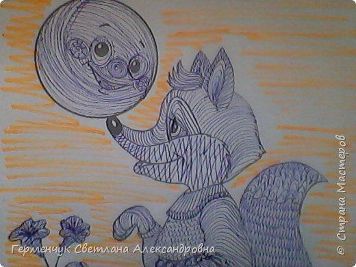 """На уроке Изо"""" Иллюстрации к сказкам"""" уч-ся 4 класса   выполняли  штрихом.Такое рисование хорошо развивает мелкую моторику пальцев,улучшает почерк .Ребятам понравилась работа ,они придумывали свои способы штриховки,Рисунки  распечатали из Интернета . Все , МОЛОДЦЫ!!!!!! фото 27"""