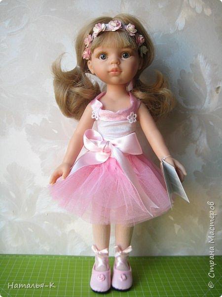 Кукла - Paola Reina 32 см.  Подарила себе на рождество. Внучкам большеглазые нравятся, а мне такие. фото 1