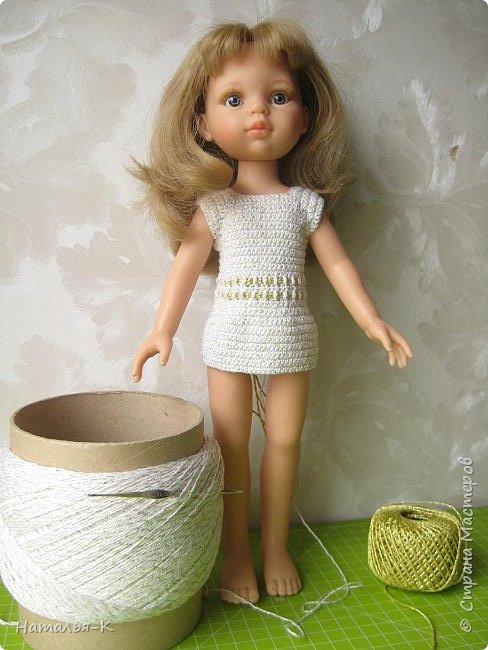 Кукла - Paola Reina 32 см.  Подарила себе на рождество. Внучкам большеглазые нравятся, а мне такие. фото 9