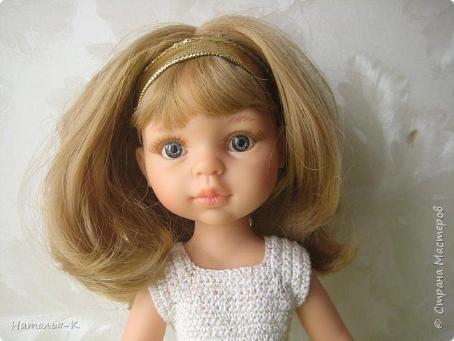 Кукла - Paola Reina 32 см.  Подарила себе на рождество. Внучкам большеглазые нравятся, а мне такие. фото 3