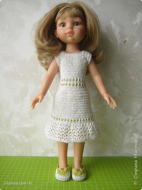 Кукла - Paola Reina 32 см.  Подарила себе на рождество. Внучкам большеглазые нравятся, а мне такие. фото 2