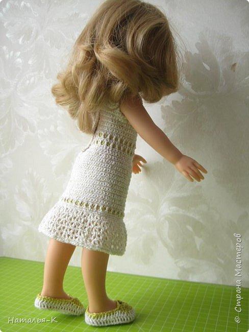 Кукла - Paola Reina 32 см.  Подарила себе на рождество. Внучкам большеглазые нравятся, а мне такие. фото 4