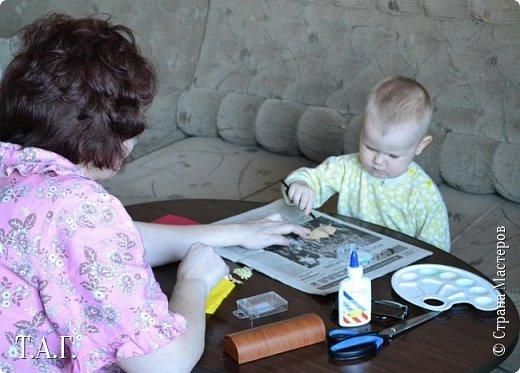 8 марта женская половина семьи получила подарки от Виталика. фото 6