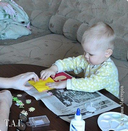 8 марта женская половина семьи получила подарки от Виталика. фото 7